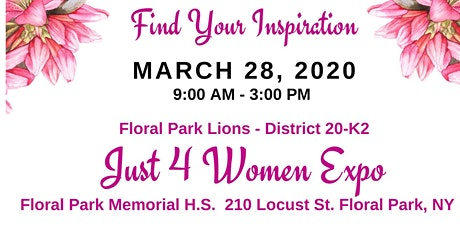 Just 4 Women Expo tickets