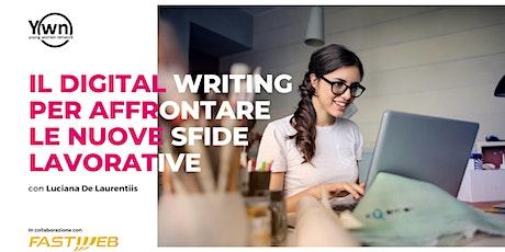 Il Digital Writing per affrontare le nuove sfide lavorative biglietti