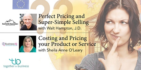 Pricing Your Work with Walt Hampton & Sheila Anne O'Leary tickets