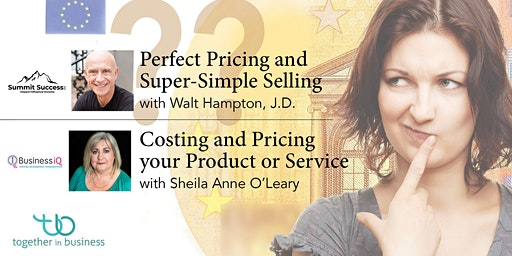 Pricing Your Work with Walt Hampton & Sheila Anne O'Leary
