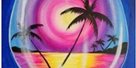 Paint and Sip - Wine Glass tickets