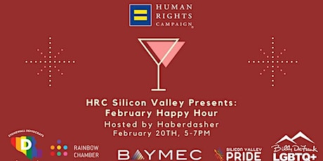 HRC Silicon Valley February Happy Hour tickets