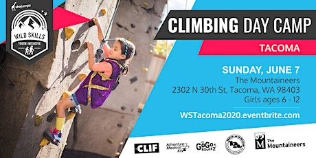 WA Wild Skills Climbing Day Camp: Tacoma tickets