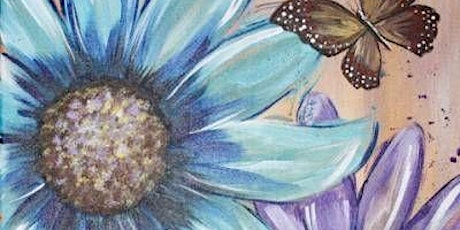 Paint and Sip - Spring Flowers tickets