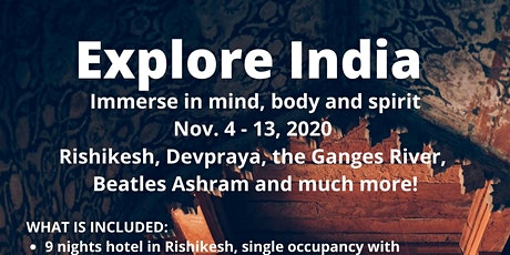 Explore India 2020 tickets