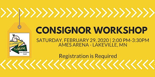 Consignor Workshop February 29