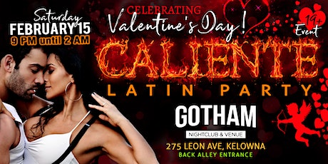 Caliente Valentine's Latin Party tickets