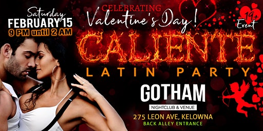 Caliente Valentine's Latin Party