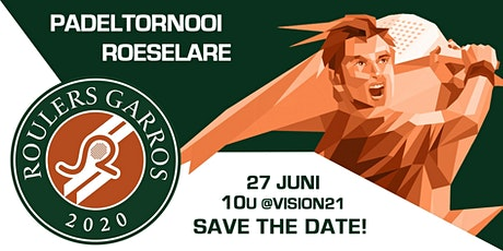 Roulers Garros 2020 tickets