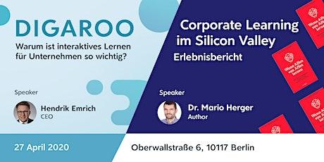 Digaroo meets Silicon Valley - Die neuesten digitalen Lerntrends in 2020 Tickets