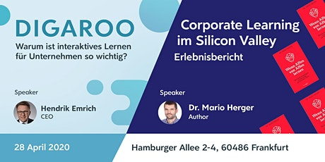 Digaroo meets Silicon Valley - Die neuesten digitalen Lerntrends in 2020 Tickets