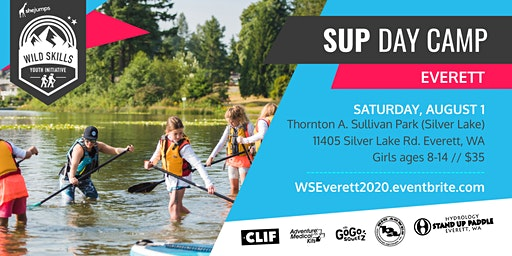 WA Wild Skills SUP Day Camp: Everett