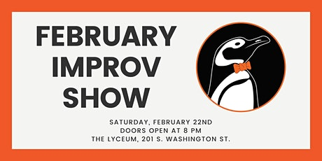 Improv Comedy Show - The Auxiliary tickets