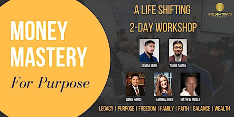 JUNE Money Mastery for Purpose -  Mindset Shifting tickets