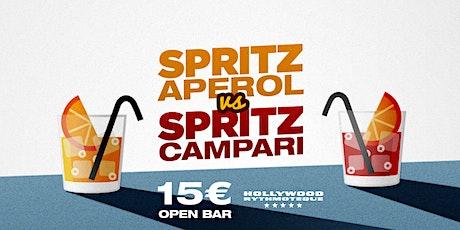 Spritz Aperol vs Spritz Campari - OPEN BAR biglietti