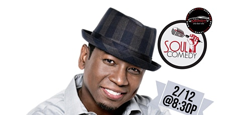 @SoulComedy starring GUY TORRY! 2.12.20 at Warmdaddys! tickets