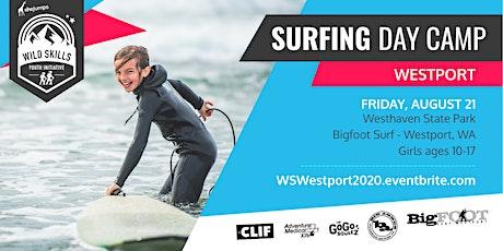 WA Wild Skills Surfing Day Camp: Westport tickets