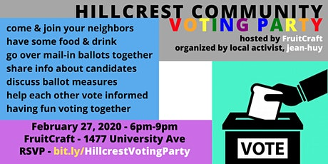 Hillcrest Community - Voting Party tickets