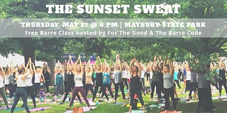 The Sunset Sweat: Free Outdoor Barre Class tickets