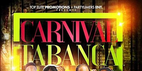 Carnival Tabanca tickets