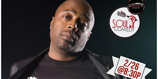 @SoulComedy starring Donnell Rawlings! 2.26.10 @Warmdaddys!