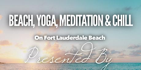 Beach Yoga, Meditation & Chill tickets