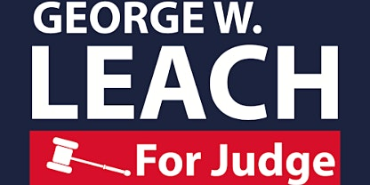 George Leach 4 Judge Pecan Penny's Fundraiser