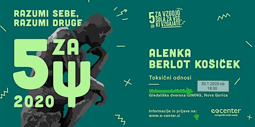 "Copy of ""5 za Ψ - razumi sebe, razumi druge"" - Alenka Berlot Košiček"