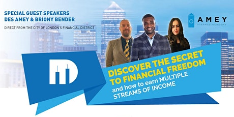 Discover the secret  to financial freedom tickets