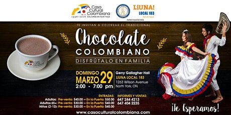 Chocolate Colombiano 2020 tickets