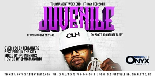 Juvenile Performing Live - Throwback Party - CI Tournament Weekend