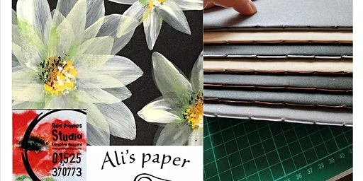 Paint & Sew Bookbinding Workshop