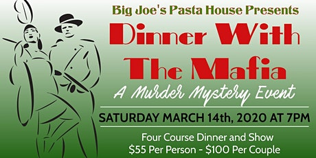 Murder Mystery Dinner at Big Joe's Pasta House tickets