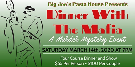 Murder Mystery Dinner at Big Joe's Pasta House