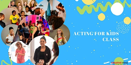 Acting for Kids Class in Jacksonville (No Experience Needed!) tickets