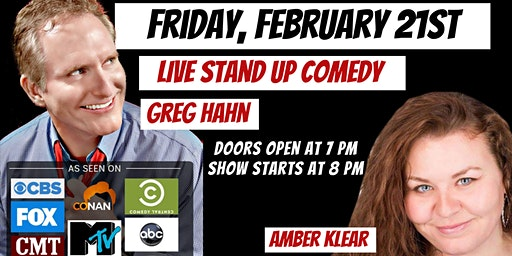 LIVE Stand Up Comedy with Greg Hahn in Maryville, IL