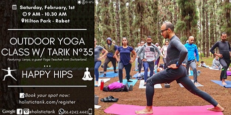 Outdoor yoga class in Rabat n°35: Happy Hips (feat. yoga guest) billets