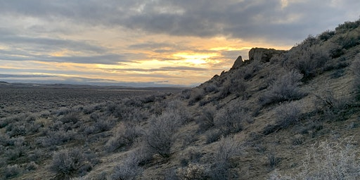 Sunset Hike on the Owyhee Front