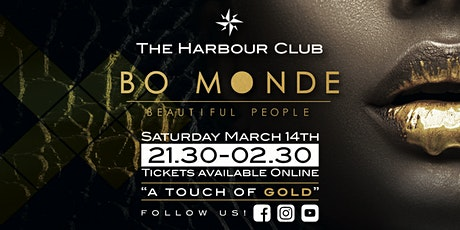 Bo Monde | A touch of gold tickets