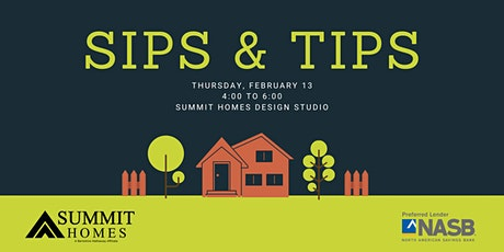 Sips & Tips tickets