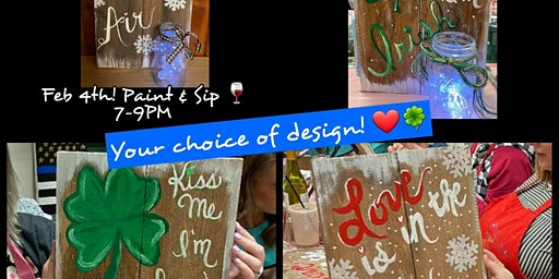 Paint & Sip-Love is in the Air