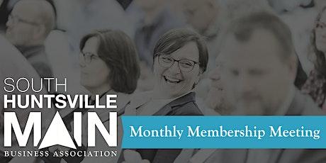 South Huntsville Main April Membership Meeting tickets