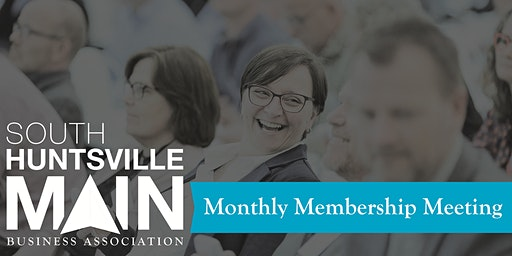South Huntsville Main April Membership Meeting