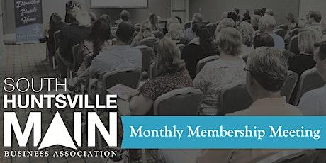 South Huntsville Main March Membership Meeting tickets