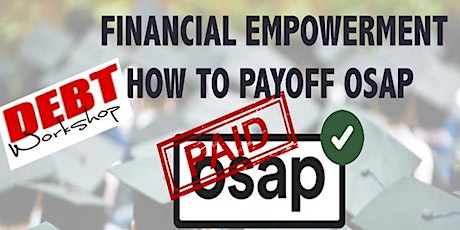 Financial Empowerment - How to Payoff OSAP tickets