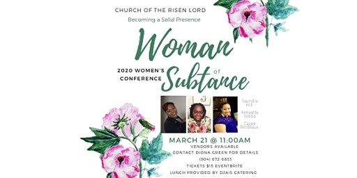Becoming A Solid Presence *Women of substance 2020 conference