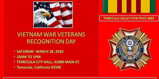 VIETNAM WAR VETERAN RECOGNITION DAY