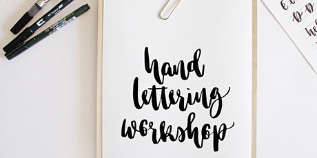 Brush Lettering Workshop - Create Your Own Greeting Cards tickets