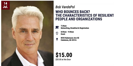 Bob VandePol: Resilient People and Organizations tickets