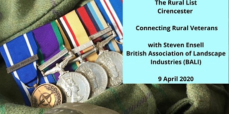 THE RURAL LIST - Connecting Rural Veterans - Steven Ensell BALI tickets